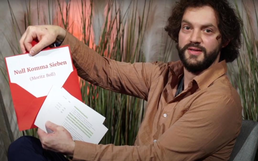 """""""Null Komma Sieben"""" erster Online-Tagessieger"""